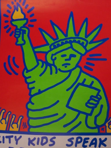 Kleurplaten Nijntje Kunstenaar.Kunst En Kinderen Keith Haring Vs Nijntje