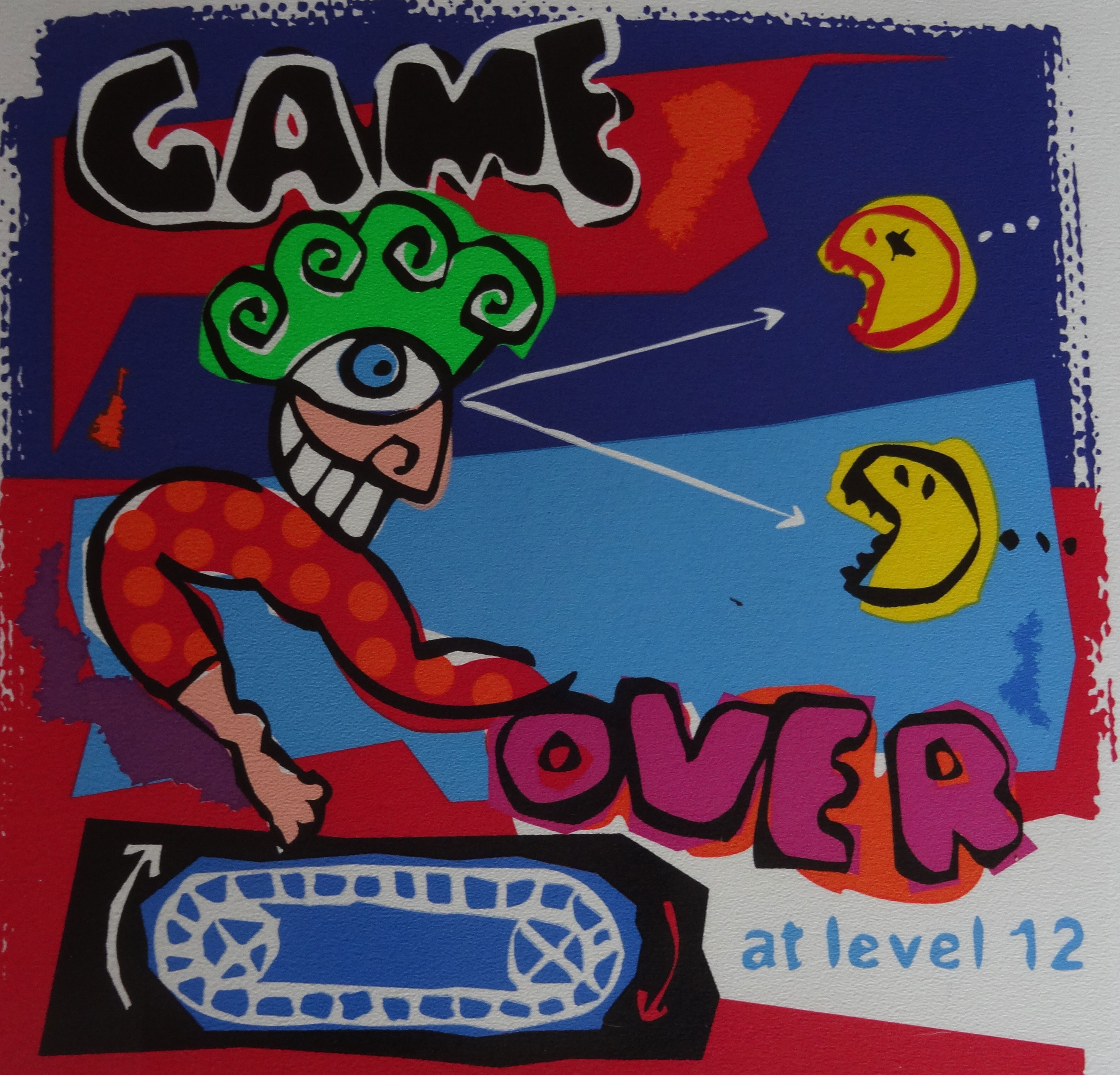 | Game Over at  Level 12