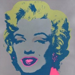 Marilyn 'Grey and Pink'