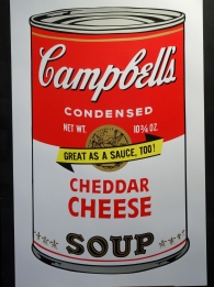 Campbell's Soup Cheddar Cheese